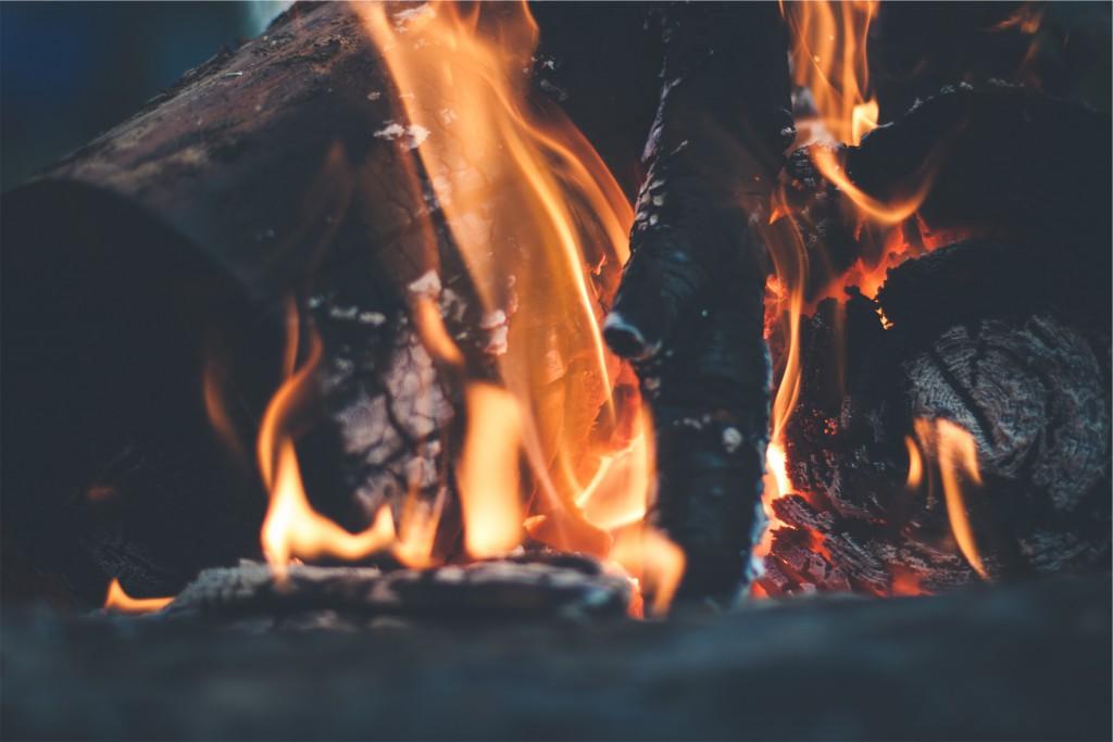 Une belle combustion