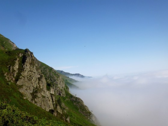 Mer de nuage.