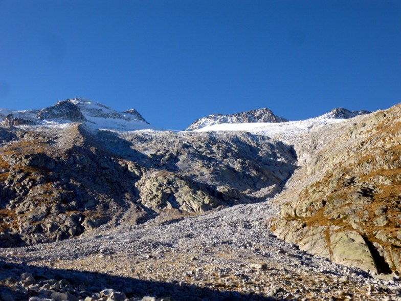 Couloir de fonte - Glacier de l'Aneto