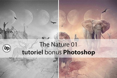 The Nature 01, tutoriel bonus Photoshop sur le blog La Retouche photo