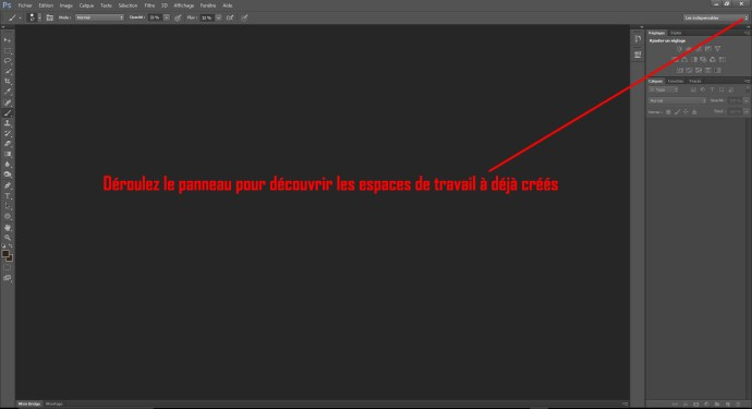 Cours photoshop 003_interface_copyright La retouche photo