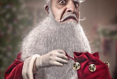 Santa Claus. Copyright Alexandre De Vries La retouche photo