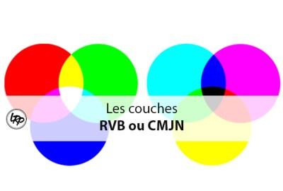 Les couches RVB ou CMJN, sur le blog La Retouche photo.