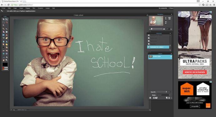 Pixlr Editor, un logiciel de retouche photo gratuit et en ligne sur le blog La retouche photo