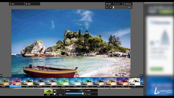 Pixlr Express, un logiciel de retouche photo gratuit et en ligne sur le blog La retouche photo