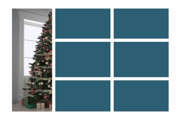 Gabarit, Comment créer une carte de voeux dans Photoshop, sur le blog La Retouche photo.