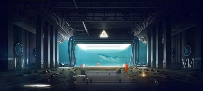 Underwater Temple par Thomas Dubois sur le blog La Retouche photo