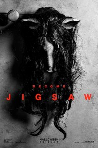 Avant la critique de l'affiche du film Jigsaw, sur le blog La Retouche photo.