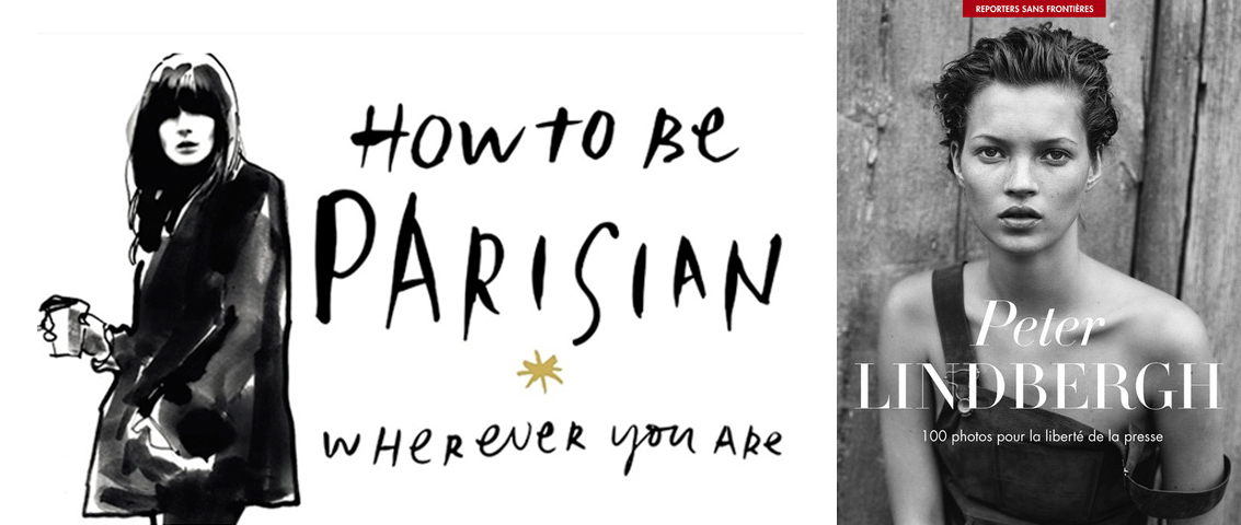 How to be a parisian wherever you are x Peter Lindbergh pour Reporter sans frontières