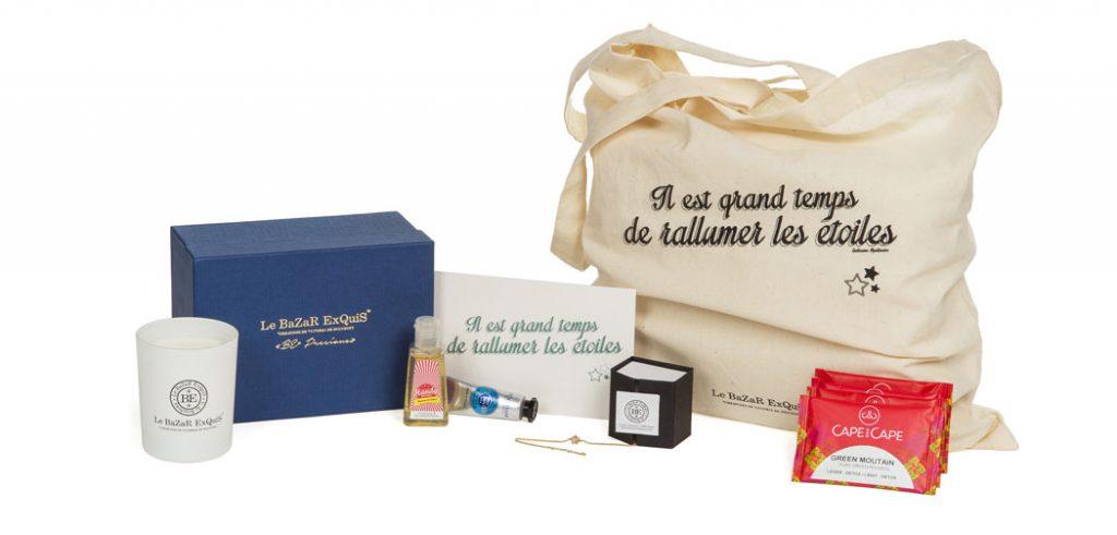 """La Box """"BE Precious"""" du Bazar Exquis"""