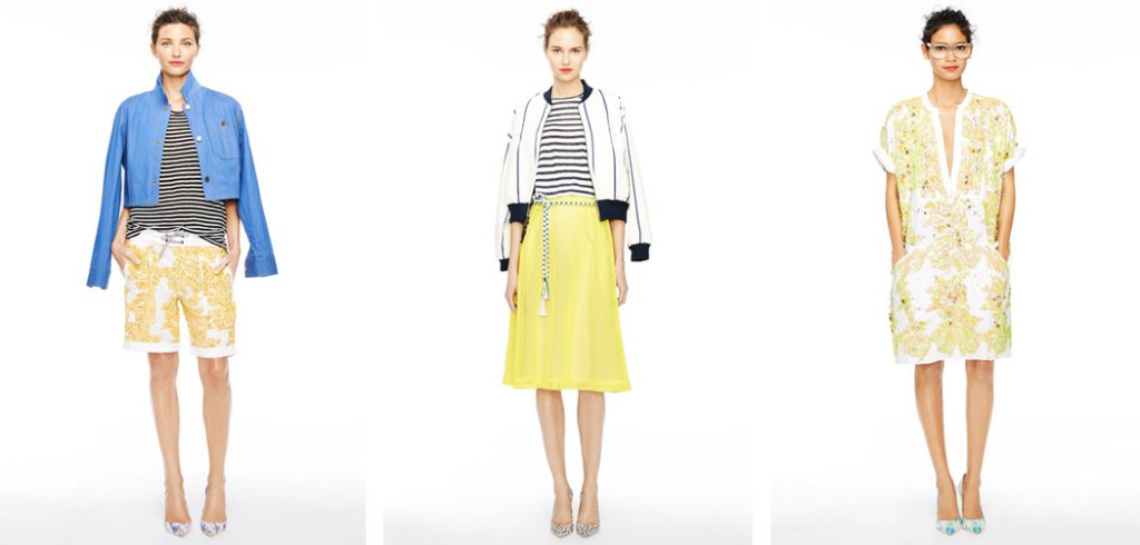 J. Crew Collection Printemps Été 2015