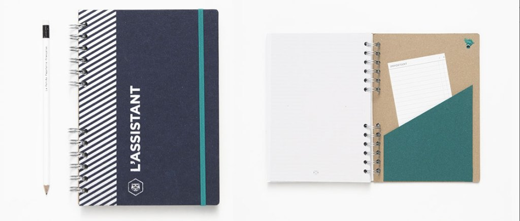 Agenda-L'Assistant-Papier-Tigre