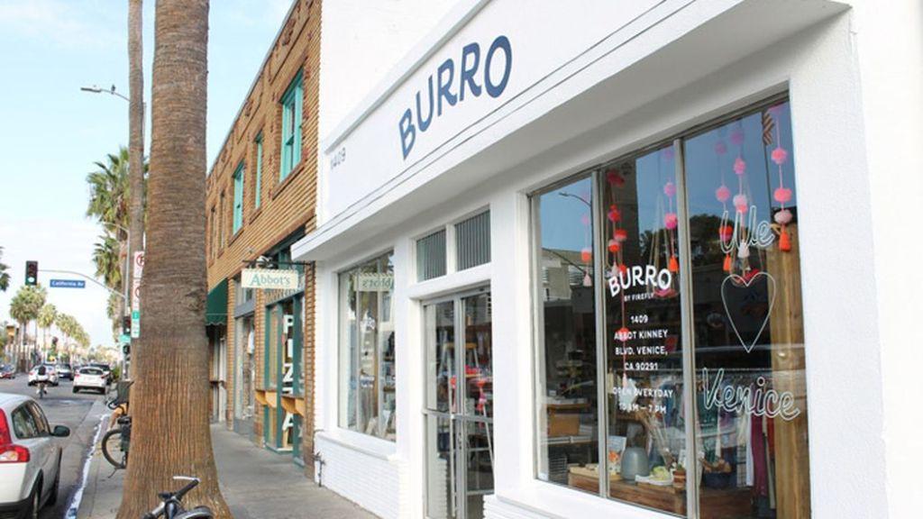 Burro Abbot Kinney concept store Venice beach los angeles