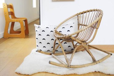 les-happy-vintage-brocante-objets-déco-design-chaise-rotin-enfants-kids