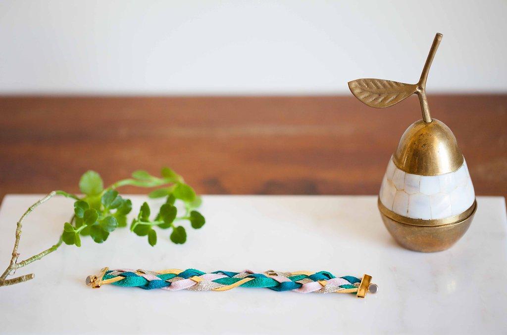 bijoux l heure d ete made in paris creatrice cuir accessoires bracelet