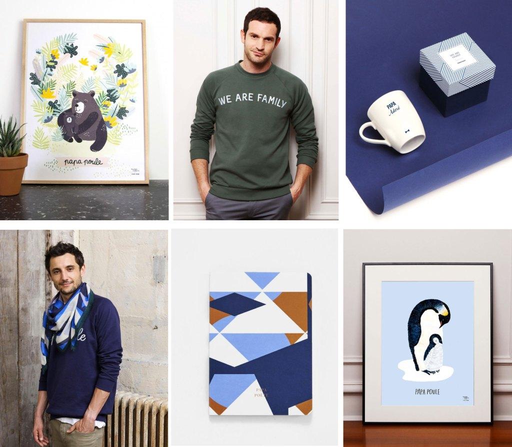Idees-cadeaux-fete-des-peres-mugs-echarpes-affiches-papa-poule-emoi-emoi-paris