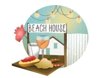 beach house bonne adresse biarritz illustration charlotte molas