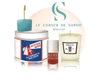 boutique le corner de sophie bonne adresse biarritz illustration charlotte molas