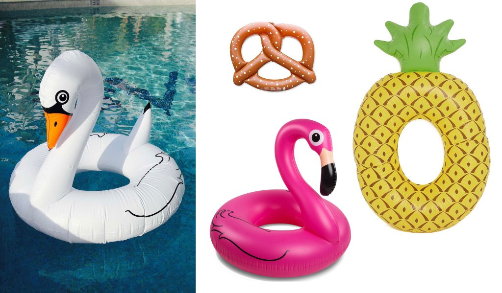 shopping-bouee-XXL-cygne-piscine-canard-flamand-rose