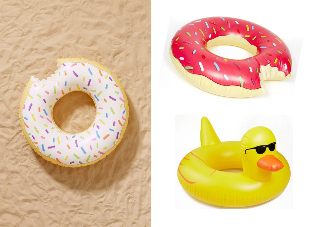 shopping-bouee-XXL-donut-piscine-canard-flamand-rose