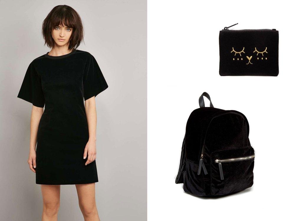 robe-velours-noir-marigiela-UO