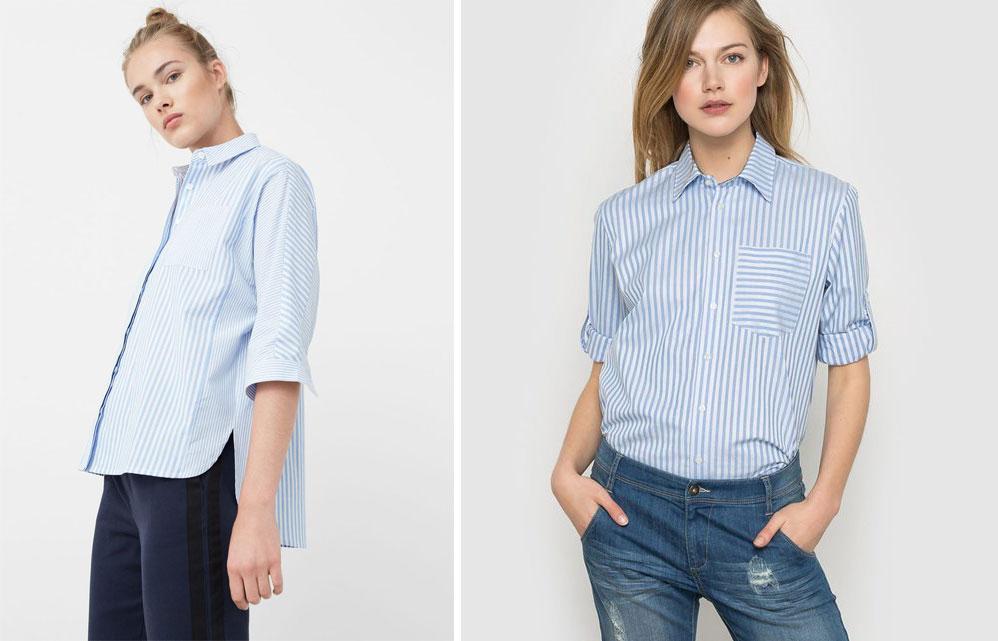 chemise-style-homme-boyfriend-bleu-blanche-a-rayures