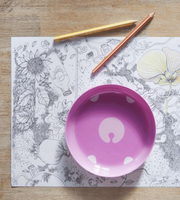 Les petits raffineurs_sets de table a colorier