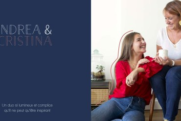 Andréa x Cristina, un duo mère fille lumineux