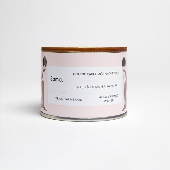 Bougies Samo Paris cire naturelle_palmeraie