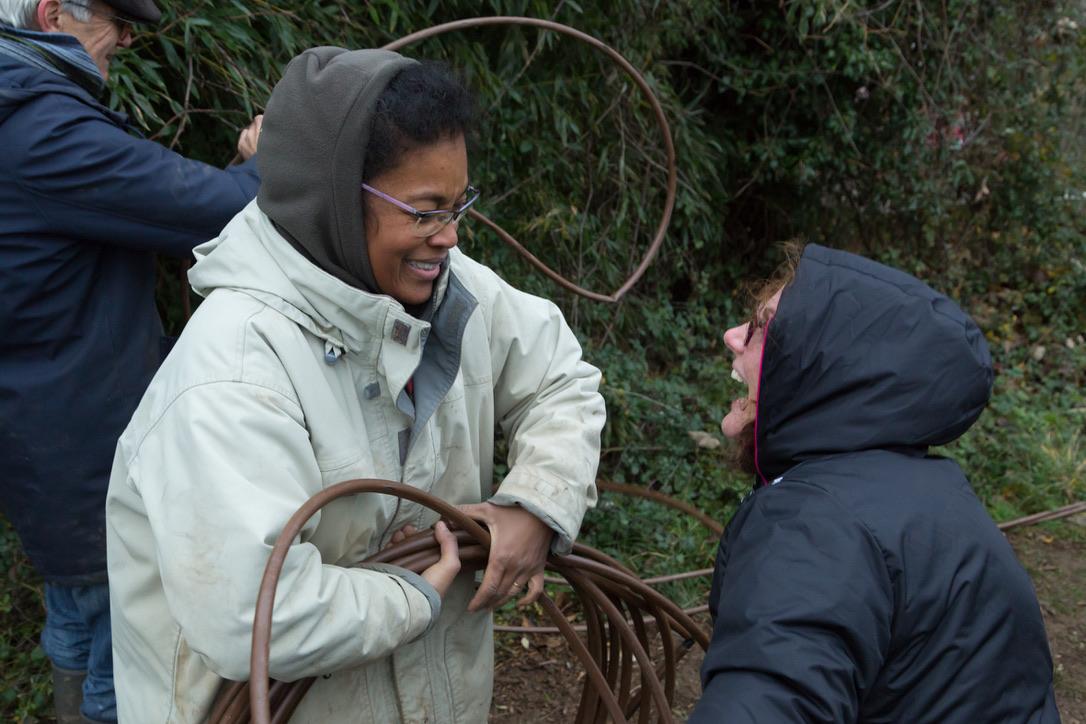 chantier participatif permaculture
