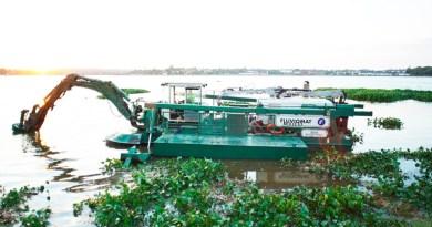La EBY pone en marcha un equipo para la limpieza de zonas costeras y subembalses
