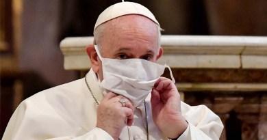 Francisco pide unidad frente a la pandemia