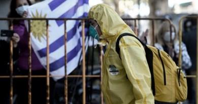 Uruguay, el país sudamericano con más muertes por coronavirus según su población