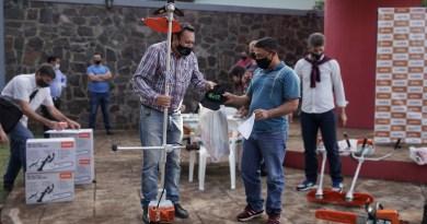 Herramientas para pequeños productores de Campo Viera y Dos de Mayo
