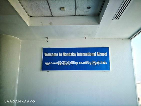 Mandalay International Ariport Arrival