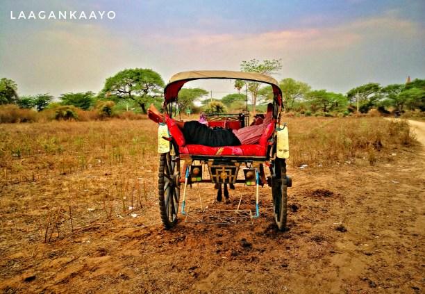 Explore Bagan Temples through Horse Cart