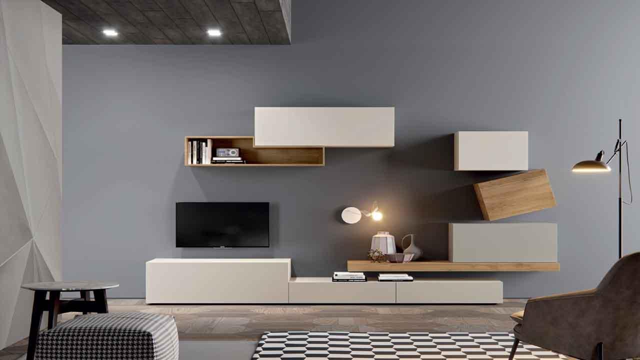 Sal n moderno muebles y decoraci n la alcoba for Muebles la alcoba