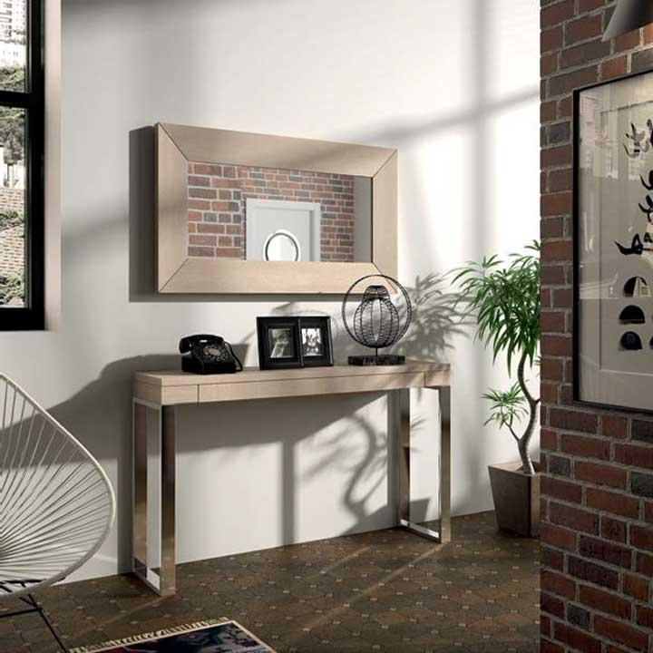 Mueble de Recibidor Colonial