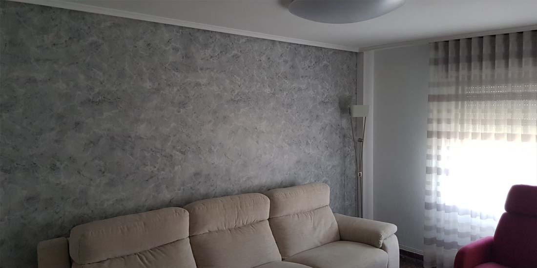 Mural pared Salón