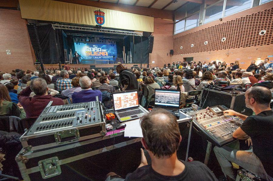 El Pabellón de La Almunia acogerá el lunes la presentación del himno