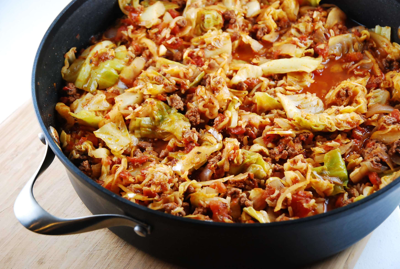 Stuffed Cabbage Saute 4 Points Laaloosh