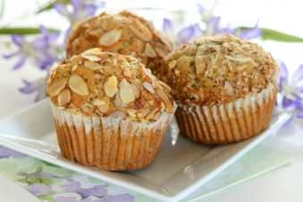 GF Lemon Poppyseed Muffins