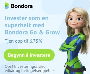 Bondora forbrukslån Norge