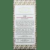 Dandelion Chocolate San Juan Estate Trinidad 70%