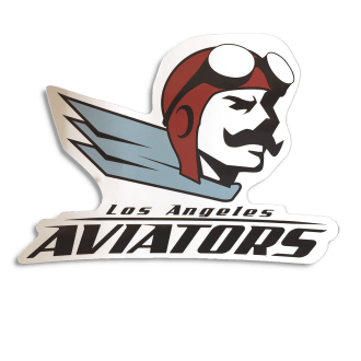 Aviator Mascot Sticker