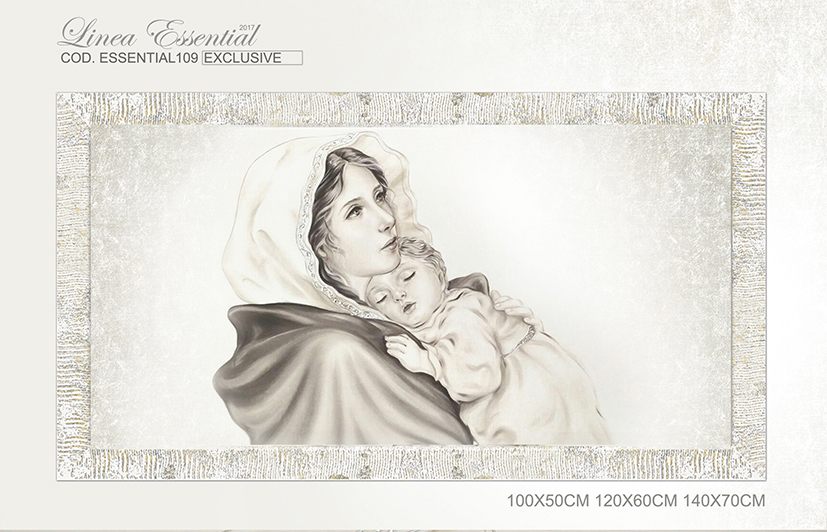 Cod. Essential109 Capezzale moderno Madonna con bambino Maternità ...
