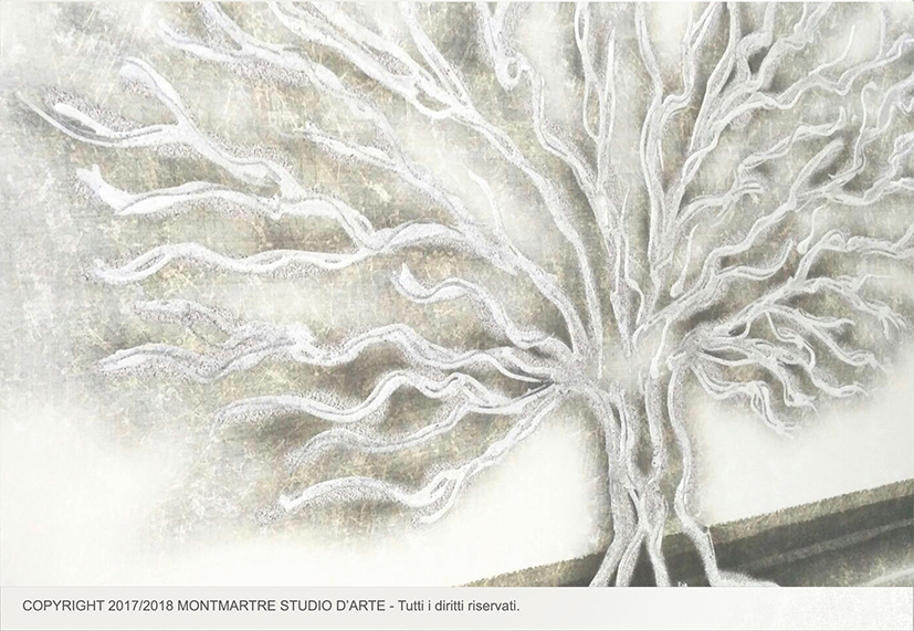 Essential111 2 arredare quadro moderno albero salotto - Dipinti camera da letto ...