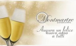 MONTMARTRE STUDIO D'ARTE – Ringrazia ed Augura un felice anno nuovo a tutti i suoi clienti