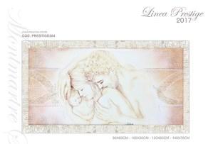quadro su tela moderno sul letto - Montmartre Studio D'Arte