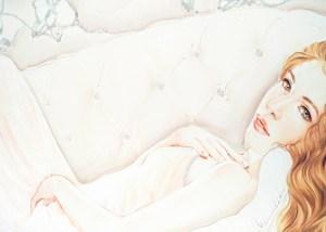 Vendita di quadri moderni su tela con dame, donne distese